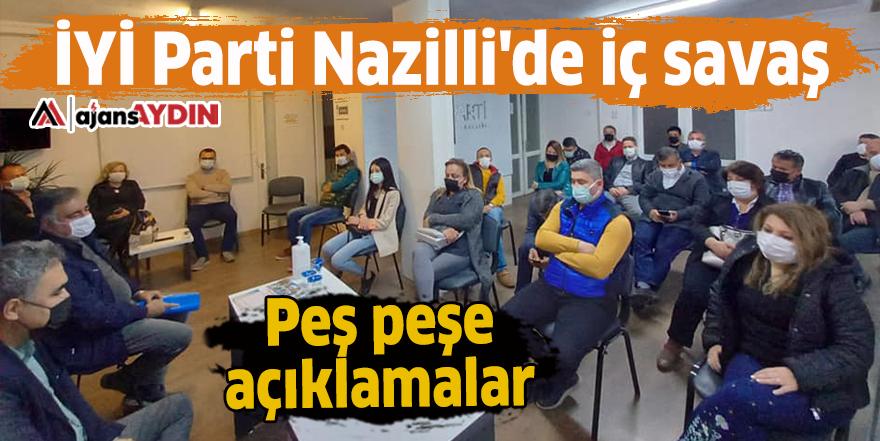 İYİ Parti Nazilli'de iç savaş