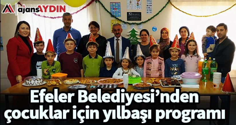Efeler Belediyesi'nden çocuklar için yılbaşı programı