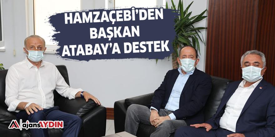 Hamzaçebi'den Başkan Atabay'a destek