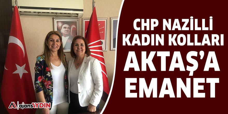 CHP Nazilli Kadın Kolları Aktaş'a emanet