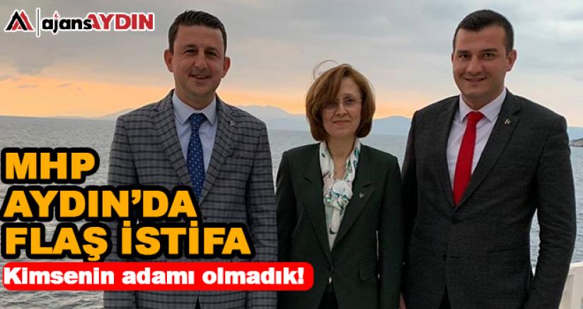 MHP Aydın'da flaş istifa