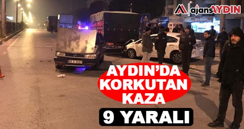 Aydın'da Korkutan Kaza 9 Yaralı