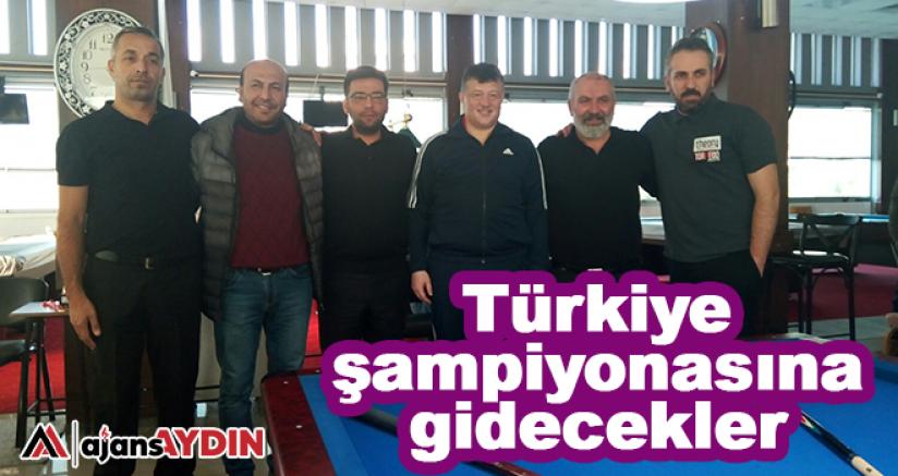 Türkiye şampiyonasına gidecekler