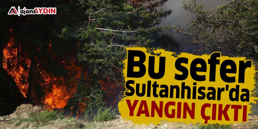 Bu sefer Sultanhisar'da yangın çıktı