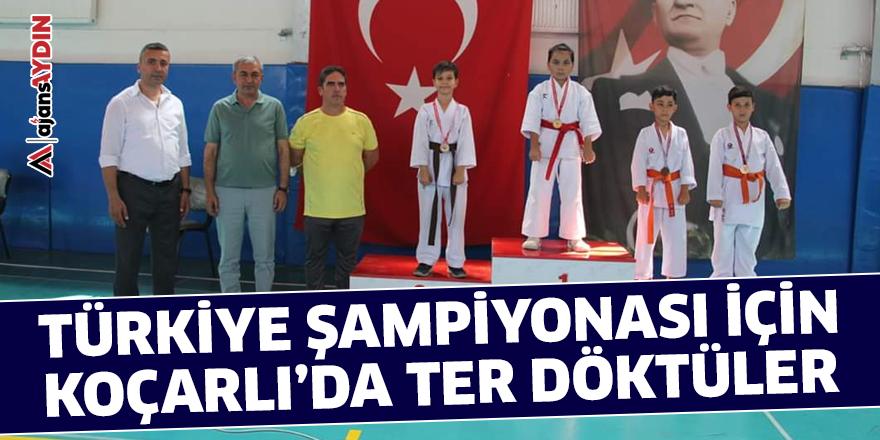 Türkiye Şampiyonası için Koçarlı'da ter döktüler
