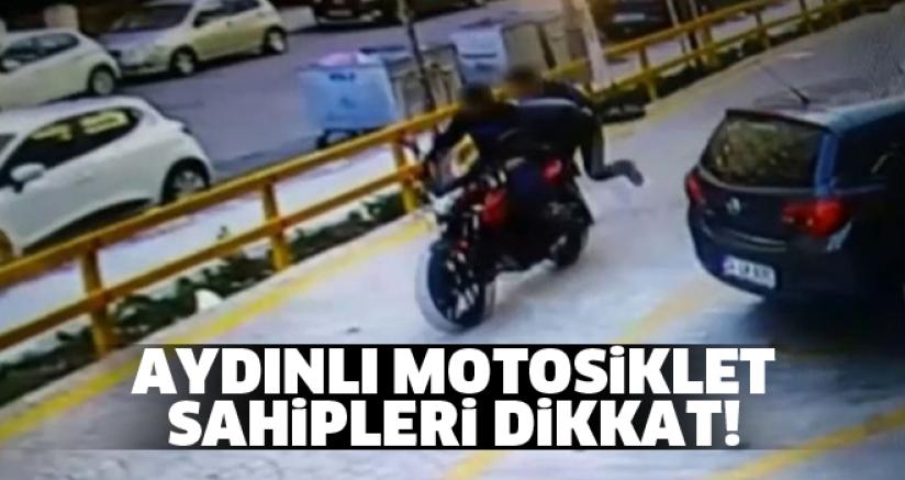 Aydınlı Motosiklet Sahipleri Dikkat!