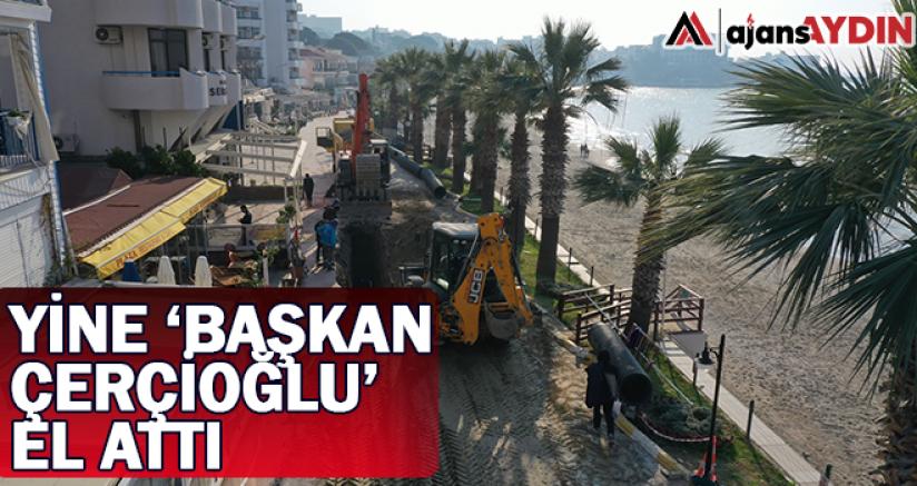 Yine Başkan Çerçioğlu el attı