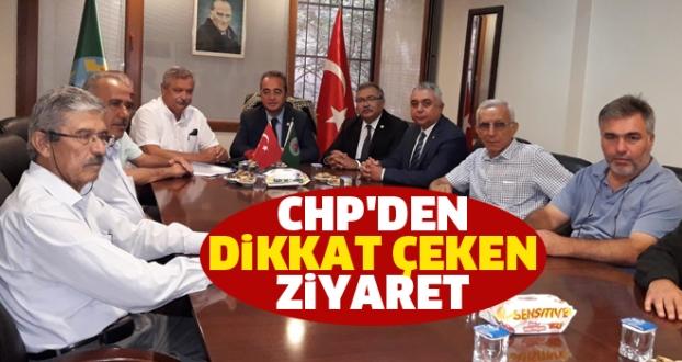 CHP'den Dikkat Çeken Ziyaret
