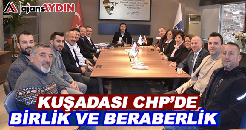 Kuşadası Chp'de birlik ve beraberlik