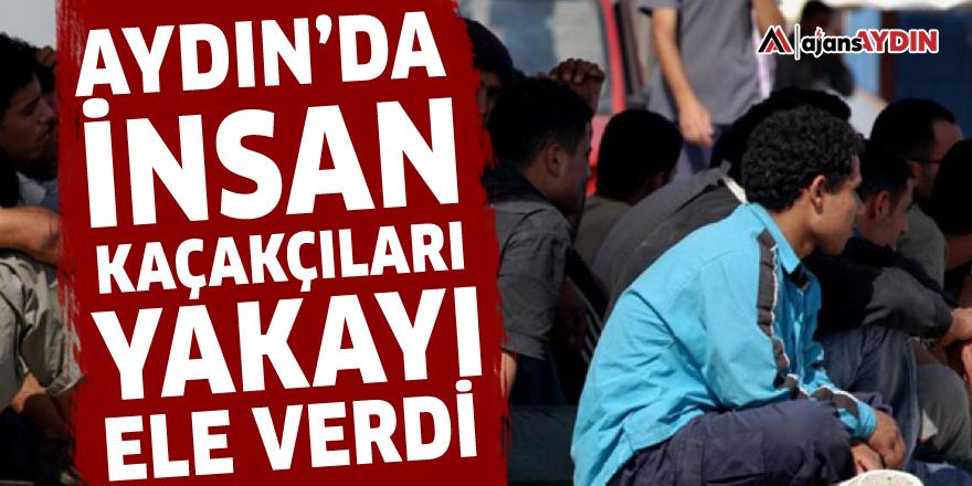Aydın'da insan kaçakçıları yakayı ele verdi