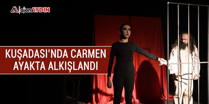 Kuşadası'nda Carmen ayakta alkışlandı