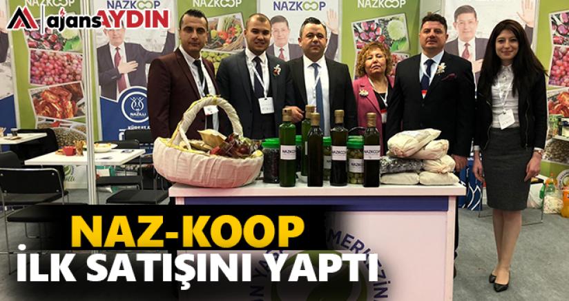 Naz-Koop ilk satışını yaptı