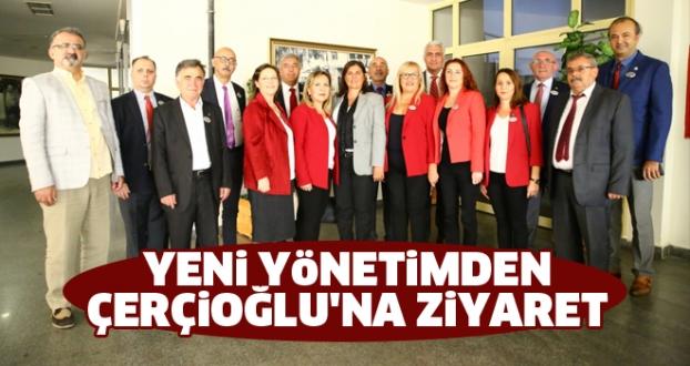 Yeni Yönetimden Çerçioğlu'na Ziyaret