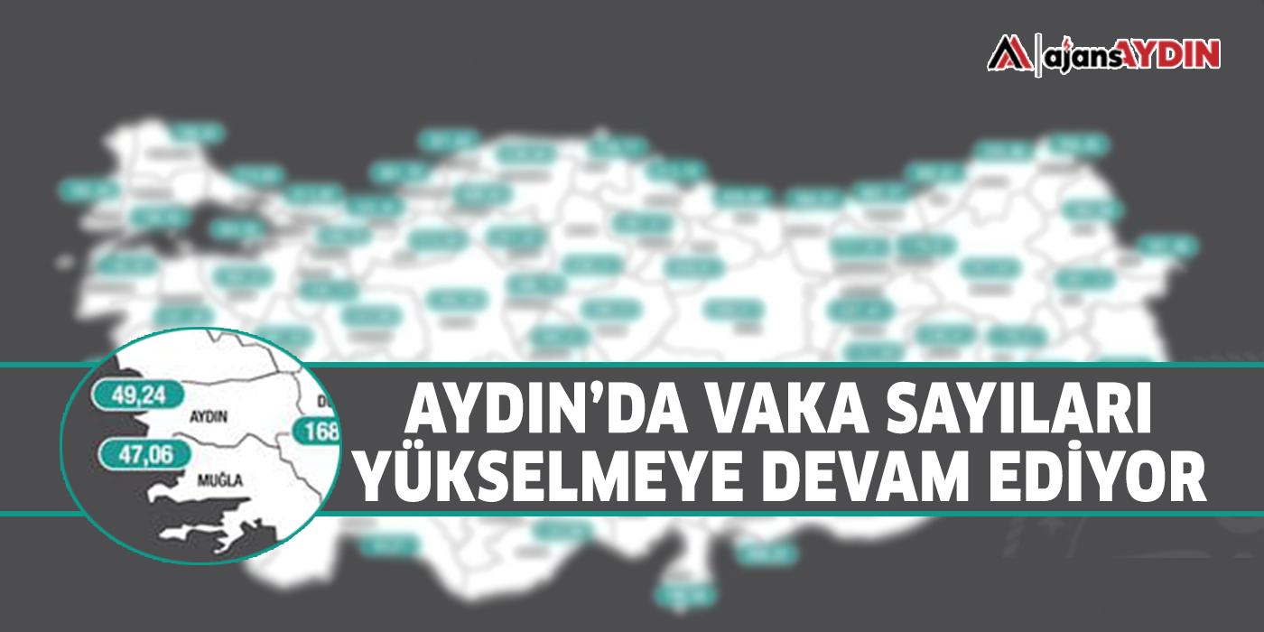 Aydın'da vaka sayıları yükselmeye devam ediyor