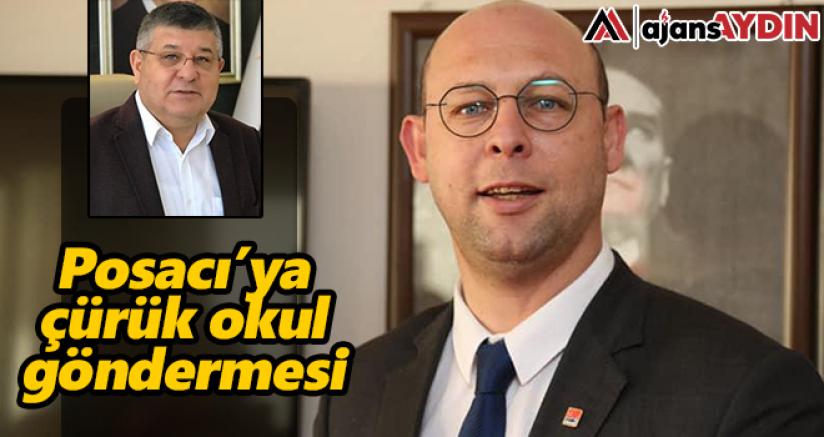 AK Partili Posacı'ya Çürük Okul Göndermesi