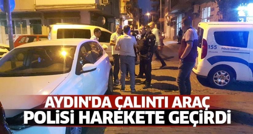 Aydın'da Çalıntı Araç Polisi Harekete Geçirdi