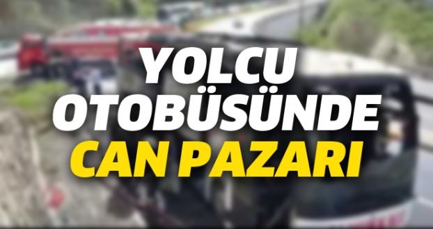 YOLCU OTOBÜSÜNDE CAN PAZARI