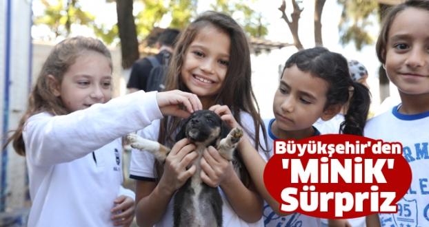Büyükşehir'den 'MİNİK' Sürpriz