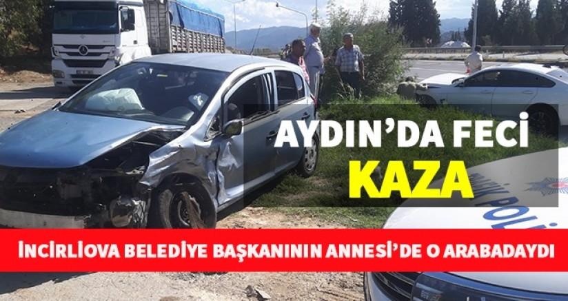 Aydın'da Feci Kaza 4 Yaralı
