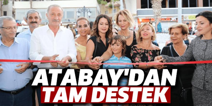 ATABAY'DAN TAM DESTEK