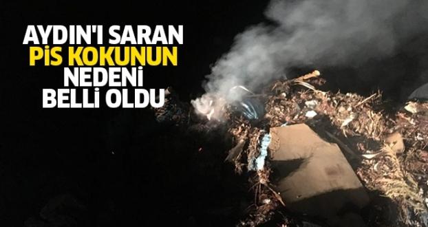 AYDIN'I SARAN PİS KOKUNUN NEDENİ BELLİ OLDU