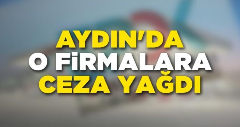 Aydın'da O Firmalara Ceza Yağdı