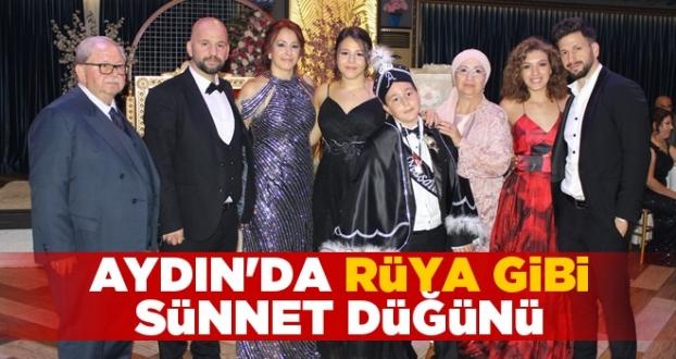 Aydın'da Rüya Gibi Sünnet Düğünü