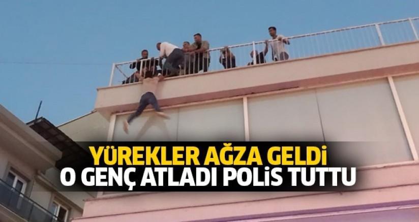 ALKIŞLAR AYDIN POLİSİNE