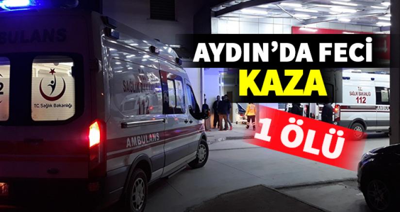 Aydın'da Yasa Boğan Kaza