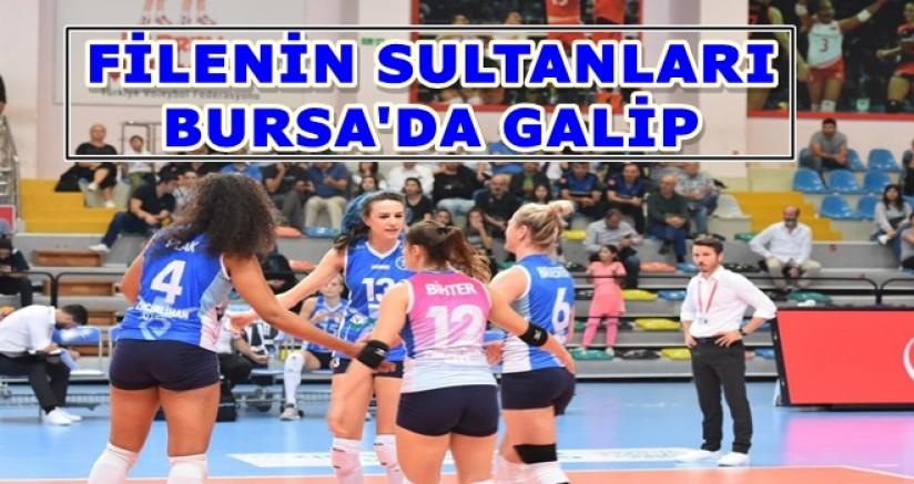 Filenin sultanları Bursa'da galip