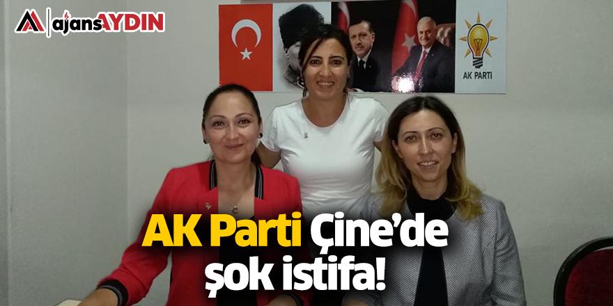 AK Parti Çine'de şok istifa!