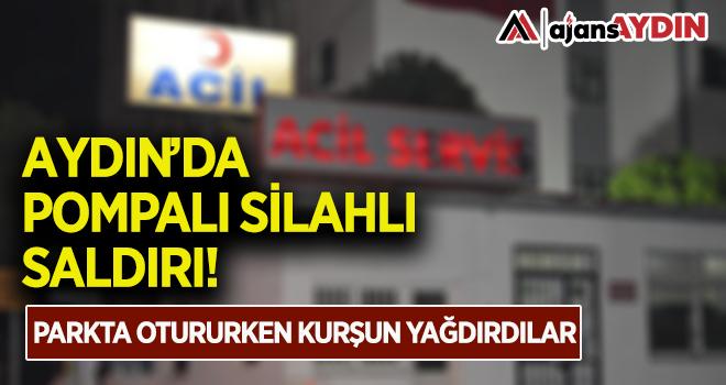 Aydın'da pompalı silahlı saldırı