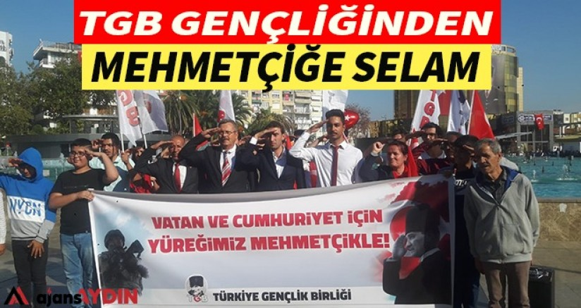 TGB Gençliğinden Mehmetçiğe Selam