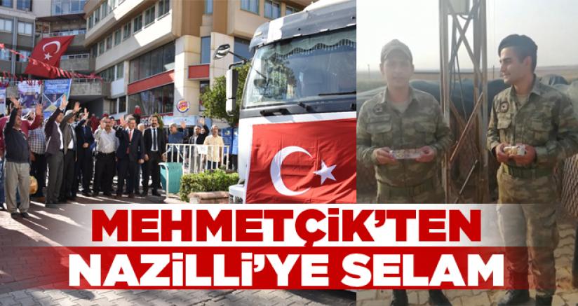 Mehmetçik'ten Nazilli'ye selam