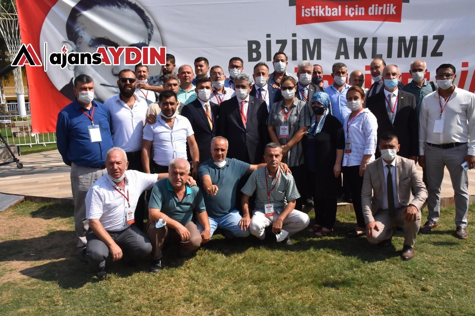 MHP Aydın İl Başkanı Alıcık, görevine yeniden seçildi