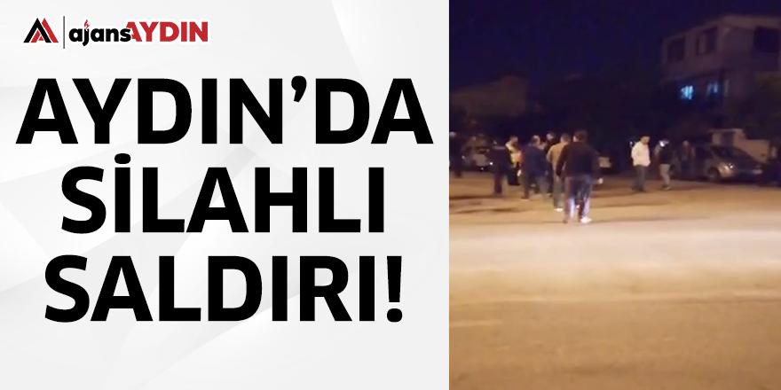 Aydın'da silahlı saldırı