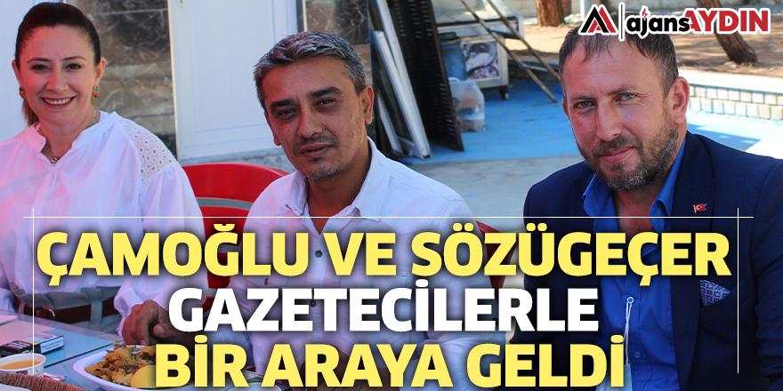 Çamoğlu ve Sözügeçer gazetecilerle bir araya geldi