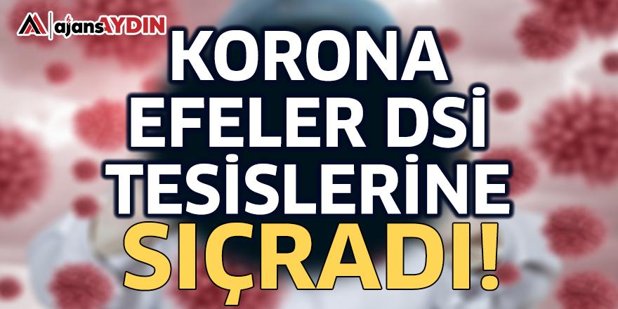Korona Efeler DSİ Tesislerine Sıçradı