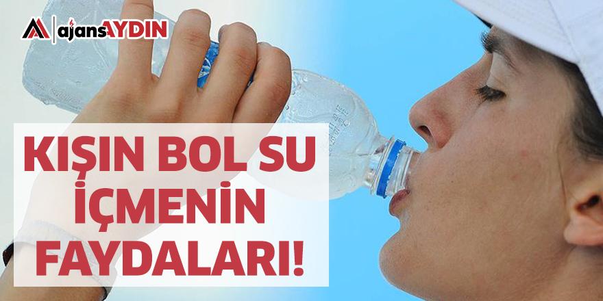 Kışın bol su içmenin faydaları