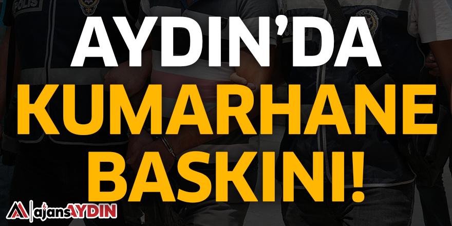 AYDIN'DA KUMARHANE BASKINI