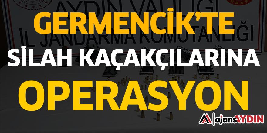 GERMENCİK'TE SİLAH KAÇAKÇILARINA OPERASYON