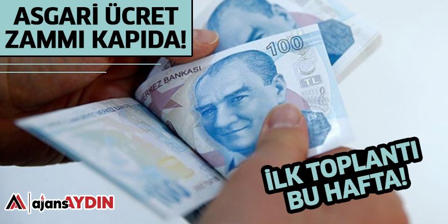 ASGARİ ÜCRET ZAMMI KAPIDA
