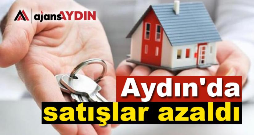 Aydın'da Satışlar Azaldı