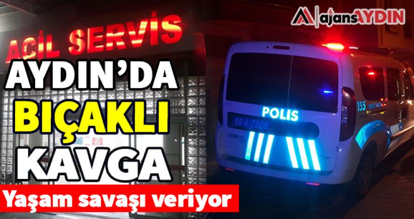 Aydın'da Bıçaklı Kavga 1 Yaralı