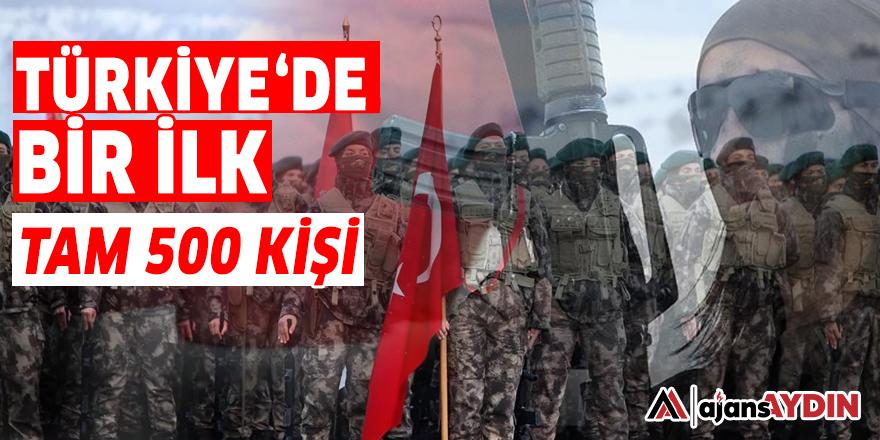 TÜRKİYE'DE BİR İLK