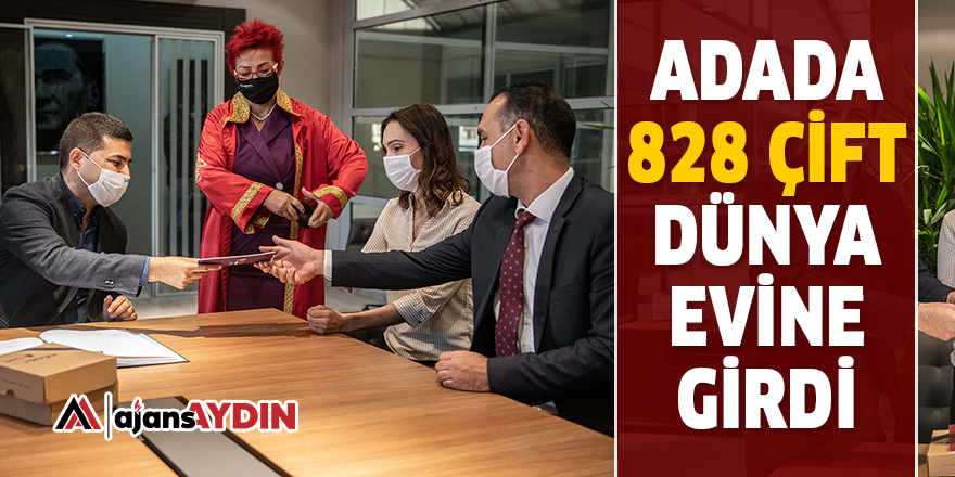 ADADA 828 ÇİFT DÜNYA EVİNE GİRDİ