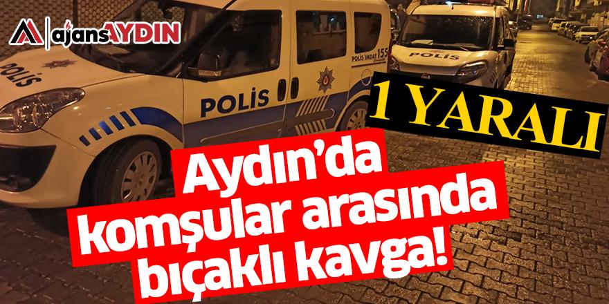 Aydın'da komşular arasında bıçaklı kavga