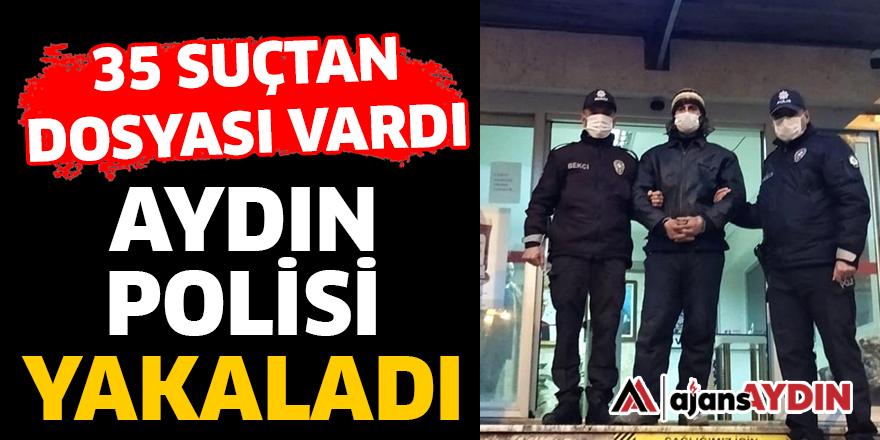 AYDIN POLİSİ YAKALADI