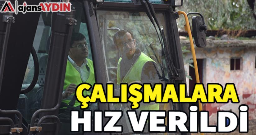 ÇALIŞMALARA HIZ VERİLDİ