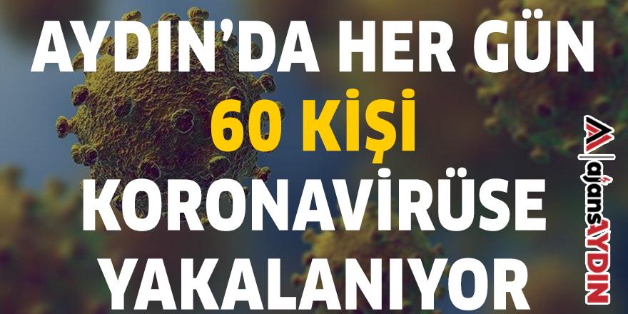 AYDIN'DA HER GÜN 60 KİŞİ KORONAVİRÜSE YAKALANIYOR